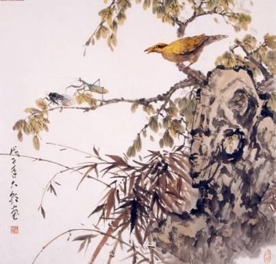 螳螂捕蝉黄雀在后的故事 最早对食物链的描述
