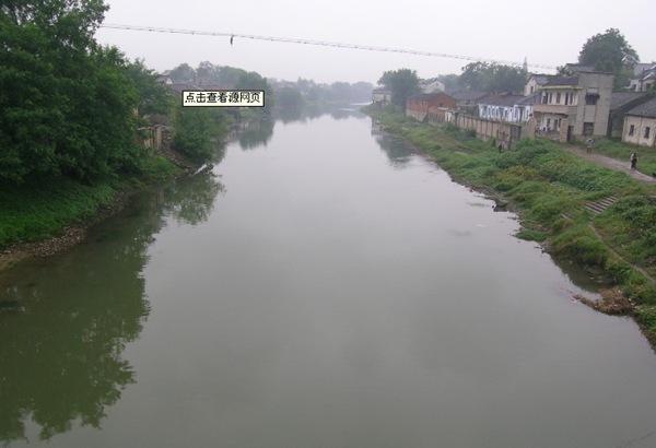 世界最早的运河-胥河