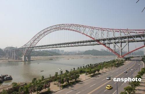 世界跨度最大的钢斜腿刚构铁路桥