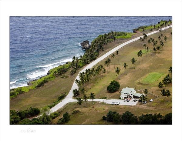 世界最大的环状珊瑚岛-圣诞岛
