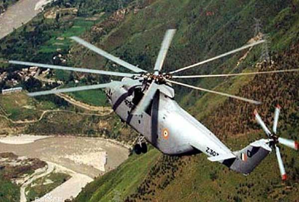 运载量最大的直升机 世界之最