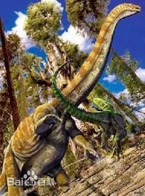 树叶子手工制作恐龙