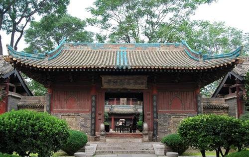 中国最大的清真寺 化觉巷伊斯兰教寺院