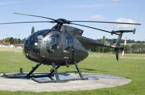 世界上飞得最远的直升机 休斯OH6A 轻型观察直升机 世界之最