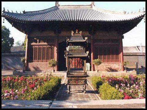 中国最早翁庑殿顶山门
