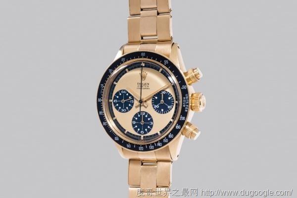 世界上最贵的手表 劳力士Rolex 从未公开发售的白金原型Submariner