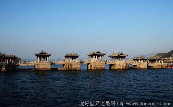 广东广济桥 世界上最早的启闭式桥梁