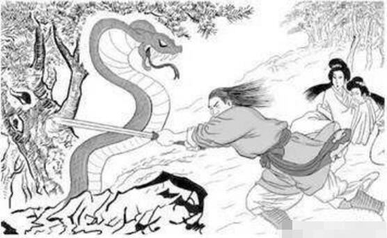 汉高祖刘邦斩白蛇起义,刘邦的老婆吕雉是最大功臣(有8