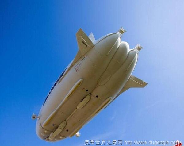 全球最大飞行器Airlander10再次启航