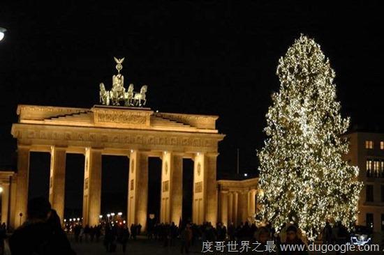 世界十大最有特色的圣诞树,最大的圣诞树在意大利产生
