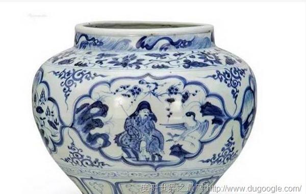 10件世界上最贵的瓷器 明初期青花九龙纹大缸等于3吨黄金