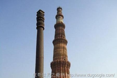 地球上最神秘的10个地方, 新德里阿育王不生锈铁柱堪称奇迹