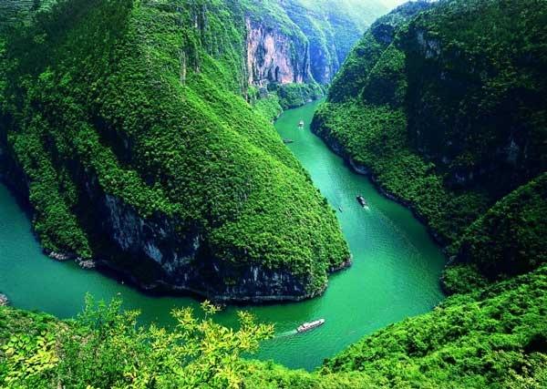 属亚热带季风气候区,跨重庆奉节