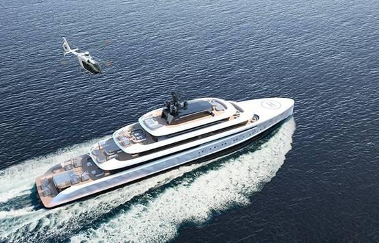 Oceanco携手Van Geest发布90米夜光游艇Moonstone