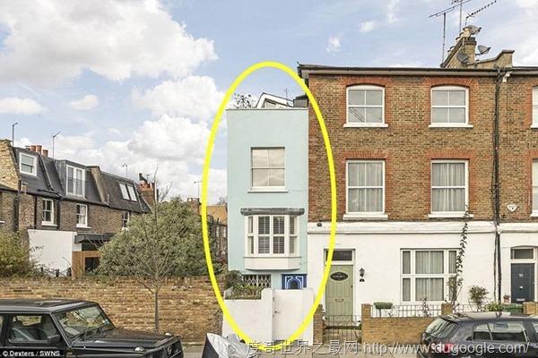 英国维多利亚时代四层洗衣房仅宽2米 如今叫价近八百万