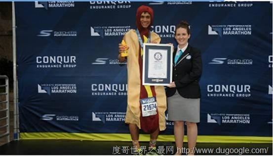 2017斯凯奇洛杉矶马拉松:用有趣的方式创造世界纪录