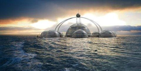 人鱼共眠 设计师造 海底城市 未来蓝图超科幻