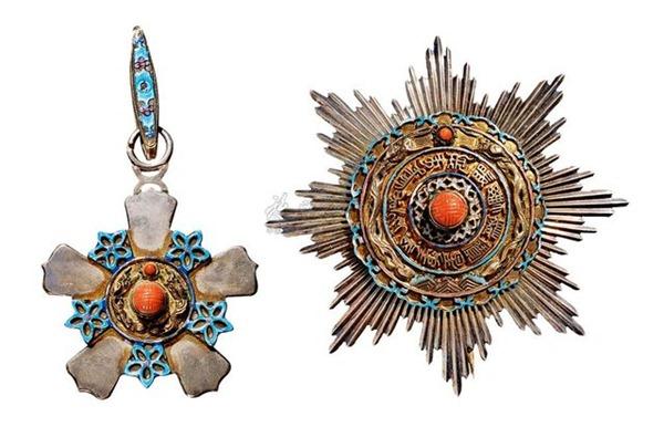 中国最早的勋章 玺赐双龙宝星