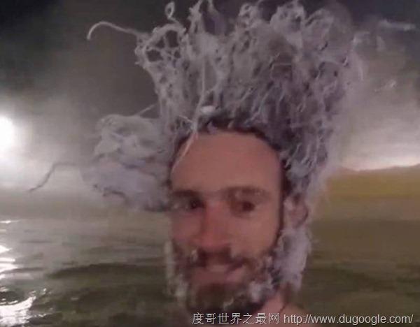在零下40度泡溫泉是種什么樣的體驗? 