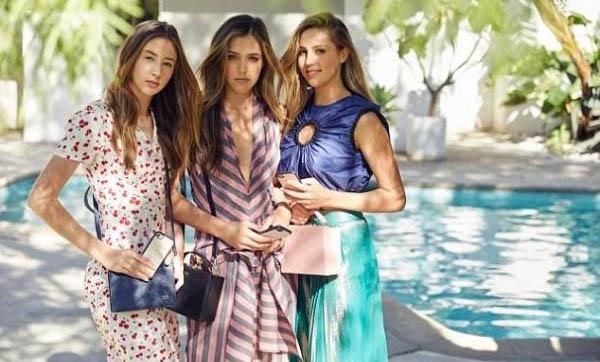 史泰龙三个漂亮的女儿合体拍梦幻时尚写真 3位千金谁最美貌?