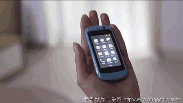 全球最小的4G智能机 还能运行安卓7.0