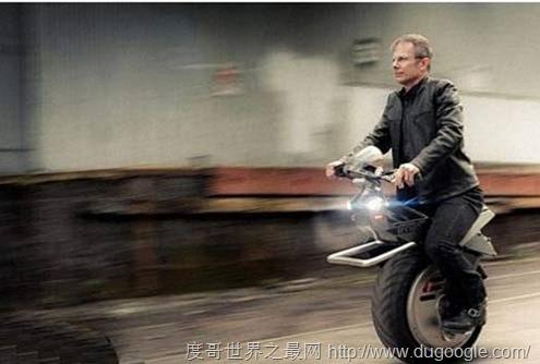 世界上最早的最小的能使用的独轮自行车