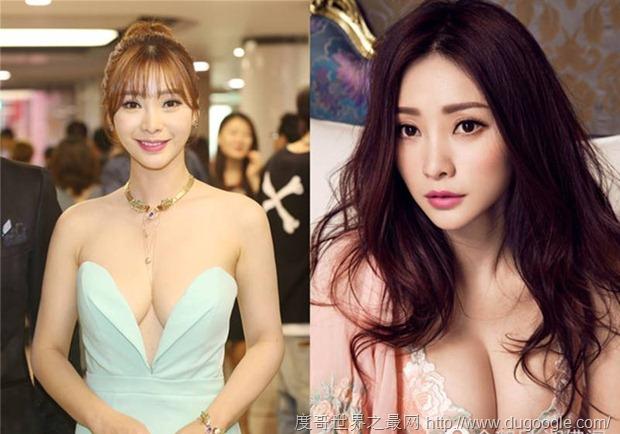 靠胸博眼球而出名的美女明星都有哪些?徐冬冬张馨予上榜