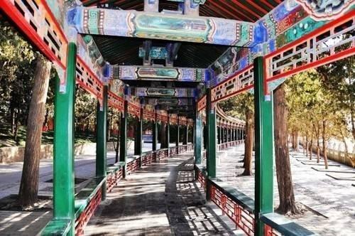 中国最长的长廊 颐和园长廊