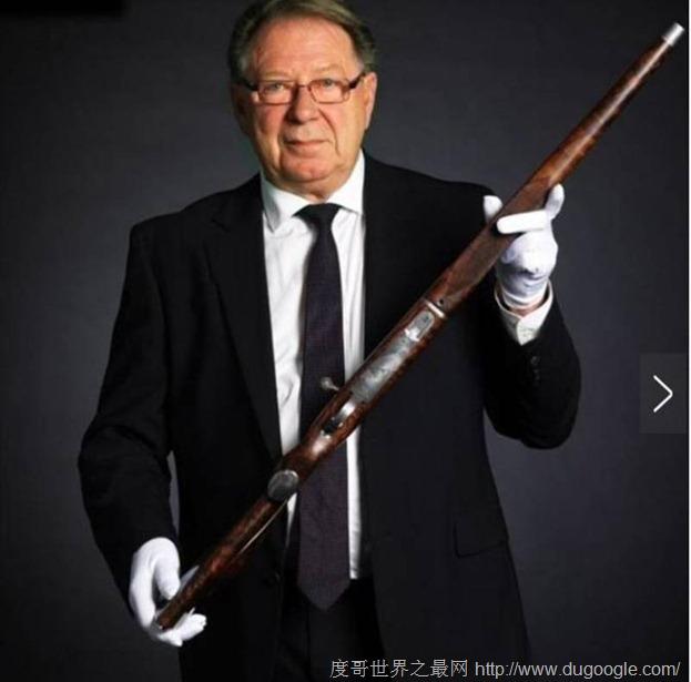 世界上最昂贵的手枪价值420万,手工制作如此的精致