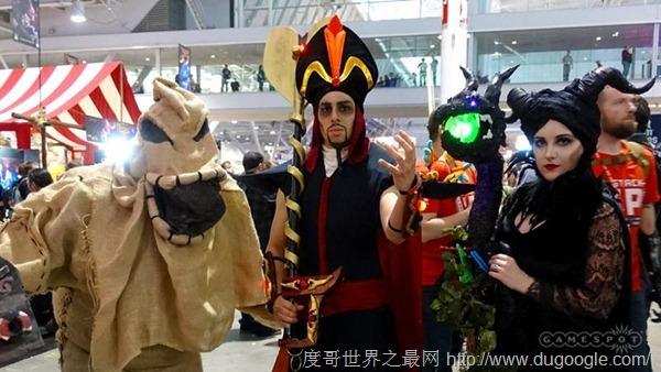 PAX东部游戏展COS精选 英雄联盟守望先锋最受欢迎