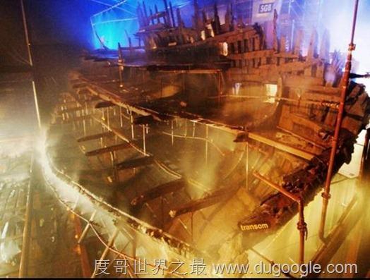 世界六大沉船 盘点世界十大最匪夷所思的海底沉船