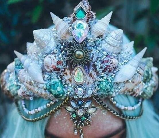 美得冒泡 贝壳王冠 Chelsea Shiels设计制作 2