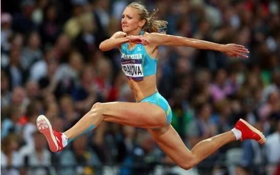 塔季扬娜·莱贝德娃 女子三级跳远的世界纪录保持者 伊涅萨·克拉维茨