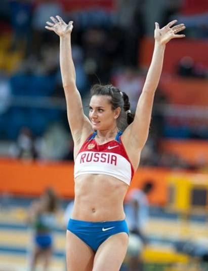 女子撑竿跳高的世界纪录保持者詹尼弗·苏尔