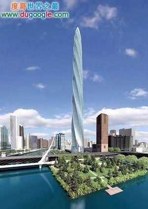 世界最高的住宅大厦,芝加哥螺旋塔