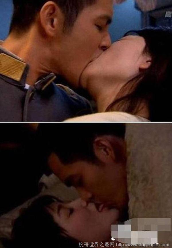 中国五大最会拍吻戏的男明星,赵又廷的咬唇钟汉良的舌吻