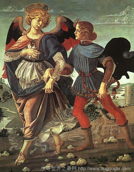 达芬奇最具争议的八大作品, 托比亚斯和天使是韦罗基奥的作品?