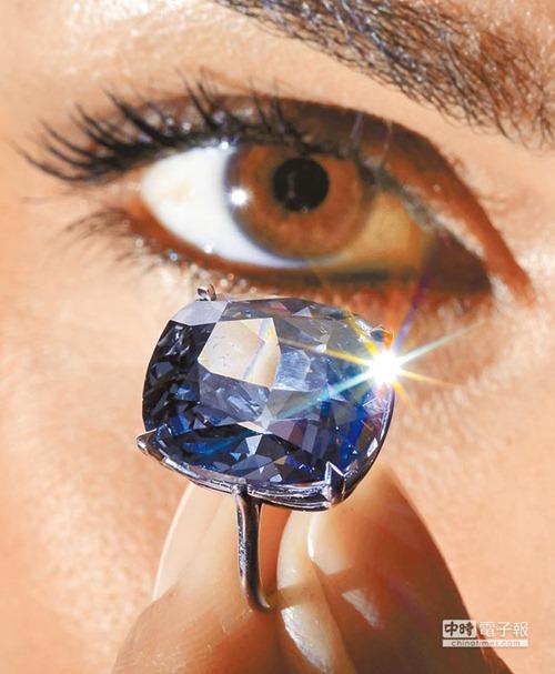 有史以来最贵钻石 蓝月Blue Moon