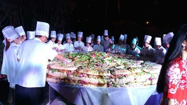 中国最大的汉堡