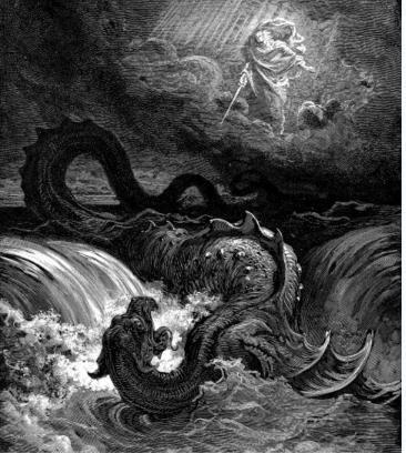 ...传说中的巨鸟.   在约伯记记载席兹是与比蒙和利维坦齐名分...
