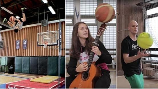 花式灌篮吉尼斯世界纪录,玩出新高度