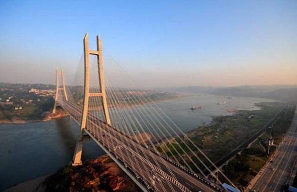 中国桥最多的城市,重庆是中国唯一的桥都共有各类城市、公路桥梁上万座