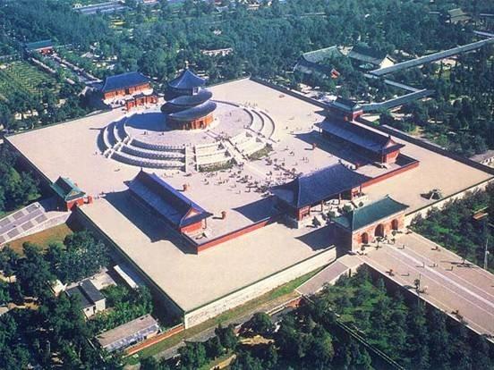 中国现存最大的古代祭祀建筑群 天坛