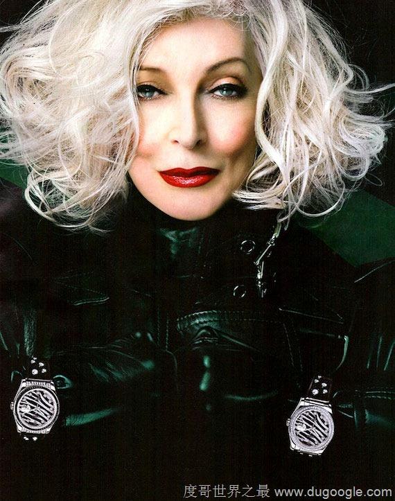 85岁卡门·戴尔·奥利菲斯仍性感 不老美魔女Carmen Dell\