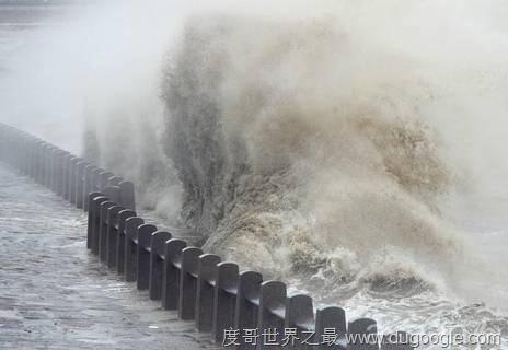 世界上最壮观的涌潮,钱塘江潮