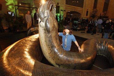沃那比蛇 远古巨蛇排行榜大全