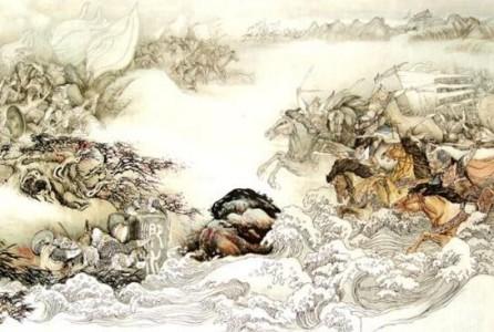 风声鹤唳的主人公是谁,苻坚战败后军队四散惊慌逃走