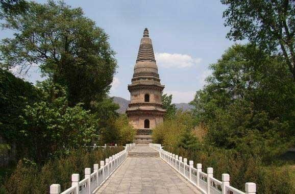 北京最早的塔 唐金仙公主塔