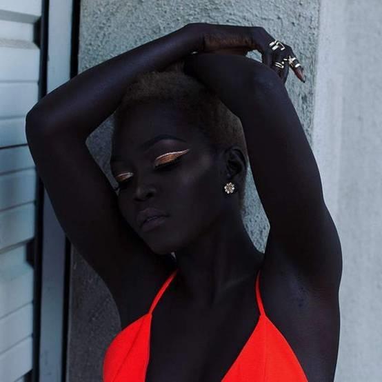 黑暗女王Nyakim Gatwech 最有自信的黑美人模特儿