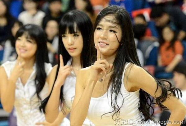 朴姬兰,韩国最美啦啦队队长,长相似刘亦菲,美翻!